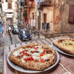 Äkta napaolitansk pizza